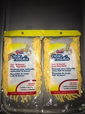 Brand New Quickie Clean Results Dust Mop Refill 2 Packs