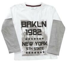 T-shirts, débardeurs et chemises manches longues pour garçon de 2 à 16 ans en 100% coton taille 5 - 6 ans