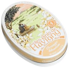 Les Anis de Flavigny Orange Blossom Flavored Hard Candy 50 gm (PACK OF THREE)