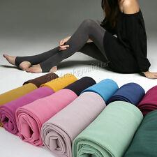 Multi-color Comfort Velvet Stretch Women Footless Stirrup Tights Slim Stockings