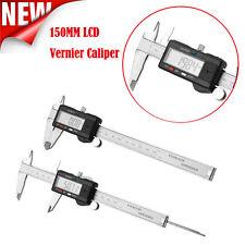 150mm 6inch LCD Digital Vernier Caliper Electronic Gauge Micrometer Measurement
