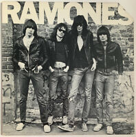 RAMONES SELF TITLED LP SIRE USA 1976 1ST PRESS ABC CREDIT NEAR MINT PRO CLEANED