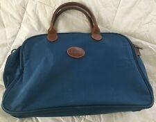 LONGCHAMP Blue Nylon Travel Bag-Distressed-SEE PICS!
