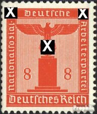 Imperio Alemán d160 nuevo 1942 sello de franqueo oficial