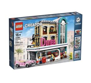 Lego 10260 Creator Expert Downtown Diner New Sealed