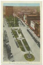 Hamilton Ontario Canada ~ King Street East & Central Bowling Club 1930's