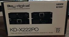 Key Digital KD-X222PO Video Extender Transmitter/Receiver KDX222PO