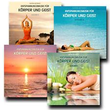 CD-Paket 4 x Entspannungsmusik für Körper und Geist (Ausgabe 5 - 8)