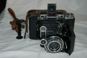 Moscow-4 Vintage Medium Format Rangefinder Camera. Serviced. No.5637297. UK Sale