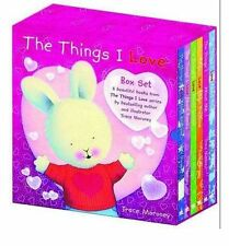 THE THINGS I LOVE - Box Set of 6 Hardbacks  by TRACE MORONEY  NEW