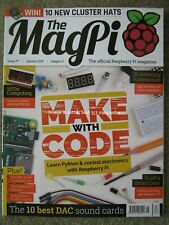 The MagPi Raspberry PI magazine January 2019 Python Make with Code PiDP-11
