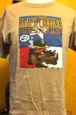 BLACK CROWES -2006 TEXAS 3 City Tour Shirt ( Chris Robinson / Magpie Salute  )