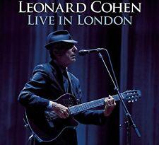 LEONARD COHEN - LIVE IN LONDON - 2CD NEW SEALED 2010