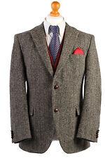 Harris Tweed Herringbone Blazer Jacket RacesEXCEPTIONAL TWEED Size L, XL-HT1774