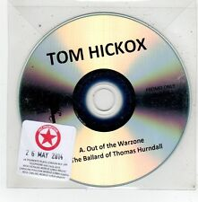 (FV494) Tom Hickox, Out of the Warzone - 2014 DJ CD