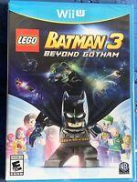 LEGO Batman 3: Beyond Gotham (Nintendo Wii U, 2014) Brand New And Sealed