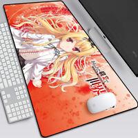 Anime Arifureta Shokugyou de Sekai Saikyou Yue Shia Haulia Mouse pad Mice Pad