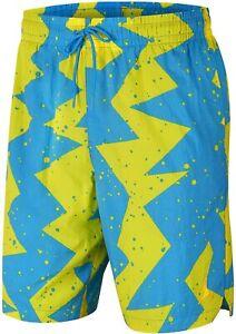 Men's Nike Air Jordan Jumpman Poolside Shorts Grey/Black CJ4701-084 Size 2XL