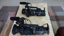 2 Jvc Gy-Hd110 High Definition Mini Dv Camcorder W/ Fujinon Lens