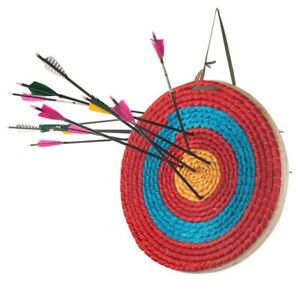 Archery Bow Shooting Target Outdoor Hunting Sports Straw Single Layer Aim Board
