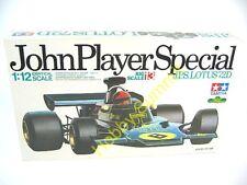 Vintage Tamiya 1/12  JPS LOTUS 72D  F-1  Grand Prix 1972 Motor Racing 12013