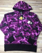 quality design 9aa4e c6557  50 UNK Los Angeles Lakers Women s Sz SMALL Hoodie Sweatshirt Camo Purple  NWT