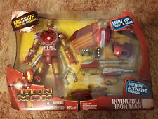 Invincible Iron Man w/light up chest and hands