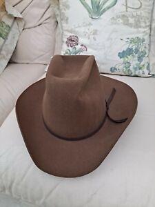 Mens Cowboy hat Western vintage American Style Stetson USA