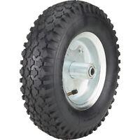 Ironton 12in. Pneumatic Wheel and Tire- 450-Lb. Capacity, Knobby Tread