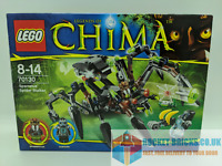 ⭐️LEGO CHIMA 70130 SPARRATUS' SPIDER STALKER - BOX ONLY - NEW⭐️
