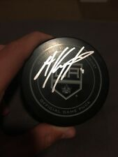 Anze Kopitar Signed Offical Kings Game Puck