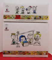 Hallmark Peanuts Nativity Collection New 11 Pc Charlie Brown Christmas Pageant