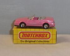 MJ7 Matchbox -  Yellow Box - MB72 Cadillac Allante - Pink