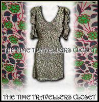 Kate Moss Topshop Liberty 40s Landgirl WW2 Vintage Floral Tea Dress UK 8 10 NWOT