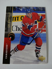 1994-95 Upper Deck #193 Patrice Brisebois Canadiens Hockey Error Wrong Name Card