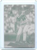 1/1 MIKE MUSSINA 2000 PACIFIC OMEGA Printing Press Plate BALTIMORE ORIOLES
