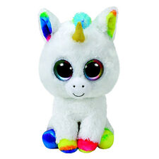"PIXY Licorne Peluche Jouet Doux, TY Beanie Boo's Collection 6"" (15 cm)"