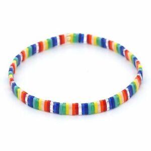 1pc Bohemian Tila Beads Bracelets Glass Beaded Miyuki Bracelet Women Fashion Jew