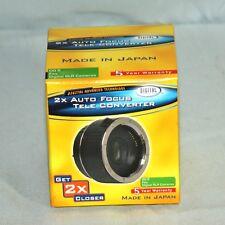DC 2XAF/NIK 2X AF Teleconverter for Nikon Digital SLR Cameras Free World Ship