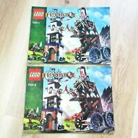 LEGO - INSTRUCTIONS BOOKLET ONLY - Castle Tower Raid - 7037