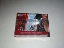 Mirror's Edge Catalyst Mini Figures Faith, Icarus, And Kuma Unopened