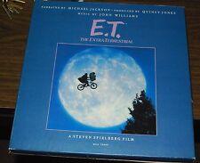 E. T. Extra Terrestrial LP Boxset John Williams Quincy Jones Michael Jackson VG+