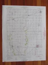 Tuscola Illinois 1952 Original Vintage USGS Topo Map