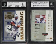 PEYTON MANNING 1998 CONTENDERS ROOKIE TICKET GOLD SSP #87 #D 13/25 COLTS RARE 🔥