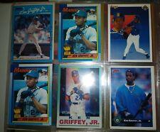 Ken Griffey Jr Lot 90s includes ROOKIE Topps