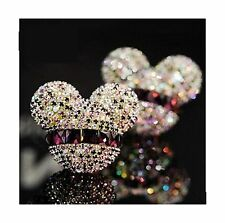FINEX Auto Mickey Mouse Sparkling Car Fragrance Air Freshener H... Free Shipping
