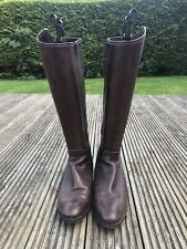 House Of Bruar Leather Boots Size 39.