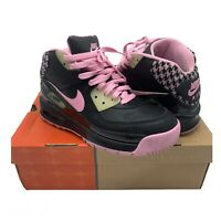 Nike Air Max 90 Trainer Boot Sneaker - Pink Black - 317221-061 - Size Uk 5
