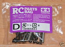 Tamiya 58344 Desert Gator/Sand Viper/Neo/DT02, 9465651/19465651 Screw Bag D, NIP