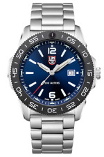 NEW LUMINOX PACIFIC DIVER STAINLESS STEEL BRACELET 44MM BLUE DIAL 3123